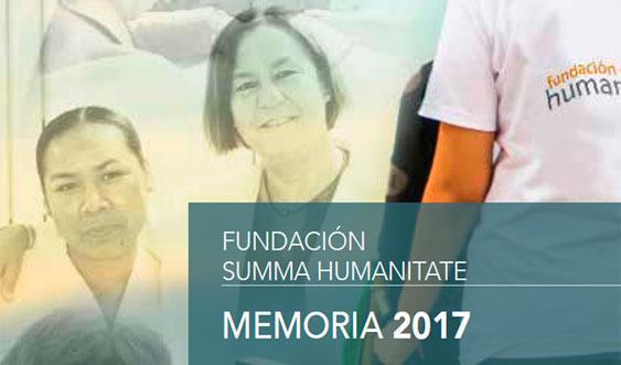 Memoria 2017 de la Fundación Humanitate