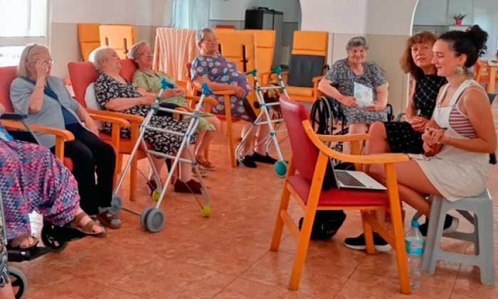 Día de la música en la Residencia San Blas de Valencia