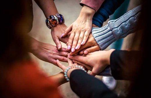 Voluntarios implicados en el cumplimiento de la misión de la Fundación Humanitate